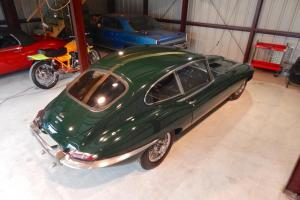 1967 JAGUAR XKE EARLY SERIES 1 4 SPEED BRITISH RACING GREEN 1 OWNER #'S MATCHING Photo