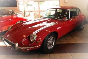 1971 Jaguar E-type Series 3 2+2 Coupe Two Owner Car, Very Low 43K Original Miles