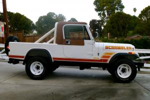 1984 Jeep CJ8 scrambler Loraido Package Full Restoration