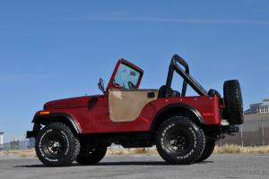1978 CJ5 COMPLETE GROUND UP RESTORATION NEW PAINT, INTERIOR 4.2L I6 SOFT TOP