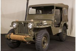 1952 Willys Military Jeep M38 Body off Restoration