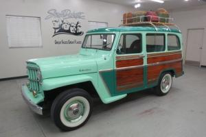 1962 Willys Jeep Wagon 4x4 !! A solid Arizona vehicle.Hand painted wood sides !!