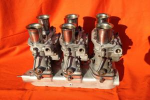 LANCIA FLAMINIA ZAGATO  Flaminia GT set carburetors WEBER 35