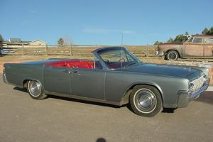 1964 Lincoln Continental convertable street rod hot custom low rider