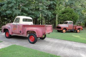 1955 Ford F-100 MARMON HERRINGTON 4 WHEEL DRIVE, CUSTOM CAB, 4-Speed Photo