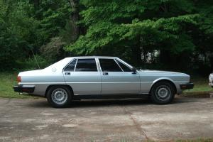 Very Rare 1986 Maserati Quattroporte III last year of this exotic vintage V8
