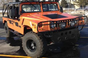 Bummer Hummer H1 Replica McLaren Orange Great Shape