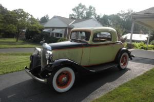 1933 CHEVY COUPE (MERCURY series)
