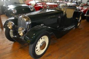 1949 Morgan 4/4 Flat Rad, super-rare early British sports convertible