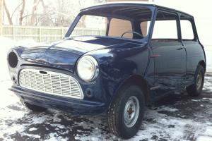 1960 Morris Classic Mini 1st year USA Import Left Hand Drive Austin Cooper 850
