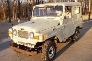 Extremely Rare 1969 Nissan Patrol 4x4