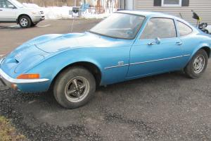 1969 OPEL GT NO RUST 27500 original miles RARE 1.1 engine 93 series