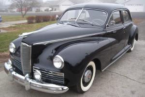 1942 Packard Clipper 110 Custom, Fresh Restoration, Classic, Collector.