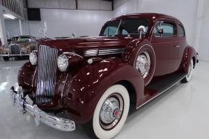 1939 PACKARD 120 CLUB COUPE, RARE DUEL SIDE-MOUNT SPARES!