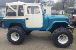 78 FJ40 Ground Up build, custom, 38 inch Swampers, 1 ton axles, soft top