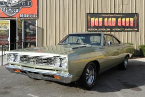 1968 PLYMOUTH ROADRUNNER Frame Off Restored Matching #s 383 Auto, Modern Stereo