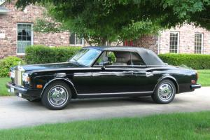 1988 ROLLS-ROYCE CORNICE II CONVERTIBLE Photo