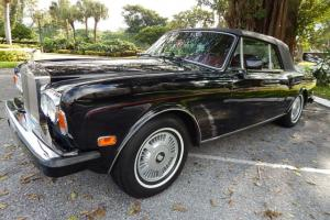 1987 ROLLS ROYCE CORNICHE 2 ONLY 30K MILES, GARAGE KEPT FLORIDA CAR Photo