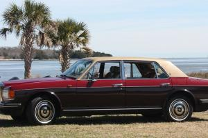 1987 Rolls Royce Silver Spur Claret/ Garnet and Tan Photo