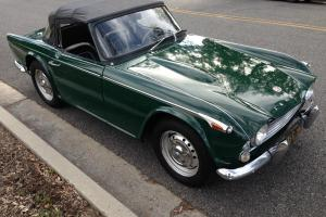 Triumph TR4A IRS Left hand drive