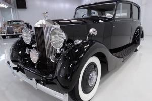 1939 ROLLS-ROYCE WRAITH PARK WARD SPORTS SALOON, 3-OWNER'S SINCE NEW! Photo