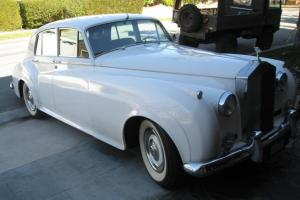 1960 Rolls Royce Silver Cloud ll, 27,600 original miles. Photo