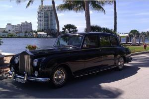 1962 Rolls Royce P5 Phantom Limo Collectors Item, Valued at Over $200,000.00