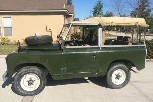 1969 Land Rover Series IIA 88.  Perfect Surf Buggy. Photo