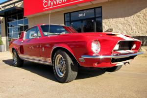 1968 Ford Mustang Shelby GT500 Coupe, 428 V8, Showroom Condition Throughout!