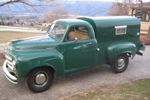1951 Studebaker 1/2 ton Pickup Model 2R6-12 with Original Canopy, colector, LOOK