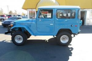 1977 Toyota Land Cruiser Frame off Restoration..Must See 4 Speed Manual 4