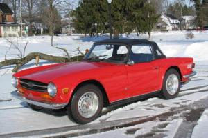 1973 TR6 ORIGINAL CAR NO RESERVE