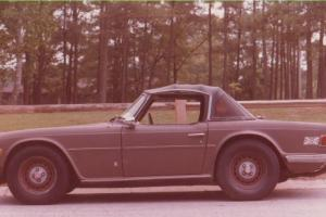 TR6 1974 Rust Free Photo