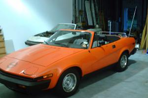 1980 TRIUMPH TR7 30TH ANNIVERSARY EDITION CALIFORNIA FUEL INJECTED