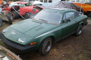 1976 Triumph TR7 hardtop sunroof solid California car All Original Paint