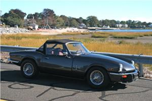 "1979 TRIUMPH SPITFIRE ""CONCOURSE RESTORATION, BETTER THEN NEW!!!"" Photo"