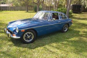 Collectors 1972 MG GT not Fiat MGA Austin Healey Triumph tr6 E-type Alfa Romeo Photo