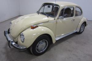 1973 VOLKSWAGEN SUPER BEETLE  4SPD MANUAL 80PICS