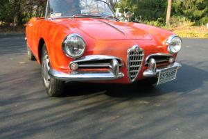 1958 Alfa Romeo Guilietta 750D Spider abnormale Photo