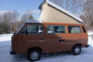 1982 Volkswagen Vanagon Westfalia Mint low miles W/ brand new 1.9l Diesel engine
