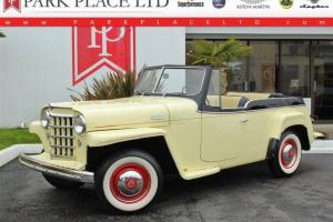 1950 Willys Jeepster Convertible - Restored