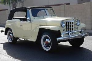 1950 Willys Jeepster VORTEC V-6 All late model running gear.. MAKE OFFER