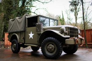 1952 Dodge Power Wagon M37