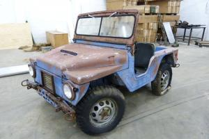 1961 M422A1 Mighty Mite jeep in need of restoration - RARE EARLIEST KNOWN M422A1