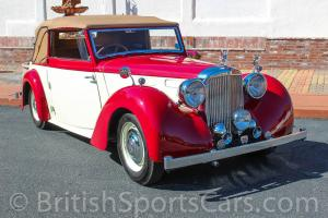 1948 Alvis TA 14 DHC Fully Restored To Nice Show Condition