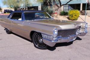 """1965 Cadillac Coupe Deville, 429ci V8, Fully Redone, Custom 20"""" Wheels, Lowered"""