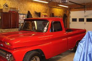 1965 chevy c10 p/u fleetside big block NOS tubbed and shaved