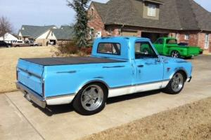 1967 CHEVY PICK-UP SWB WITH PATINA PAINT