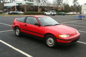1989 Honda CRX DX B20b JDM Super clean, recaro, sprint heart CP-R NO RUST