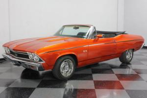VERY AFFORDABLE CONVERTIBLE CHEVELLE, 350CI CHEVY, DIGITAL GAUGES